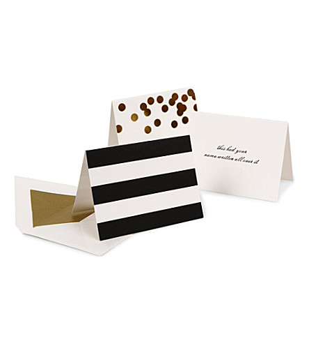 KATE SPADE NEW YORK Set of 24 Gift Enclosure cards