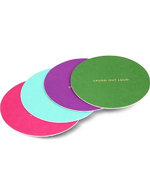KATE SPADE NEW YORK Paper coaster set of 24