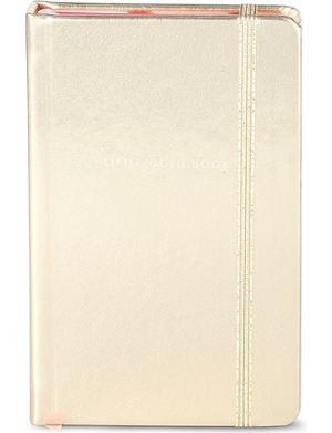 KATE SPADE Little gold book notebook