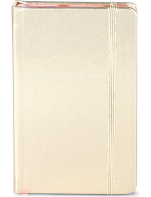 KATE SPADE Little gold book notebook