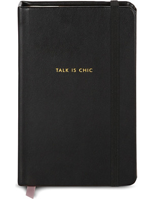 KATE SPADE Talk is chic notebook