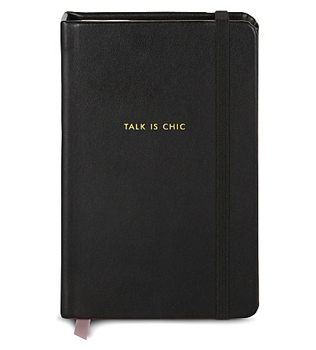KATE SPADE NEW YORK Talk is chic notebook