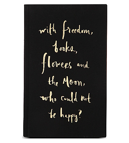 KATE SPADE NEW YORK Freedom books flowers notebook