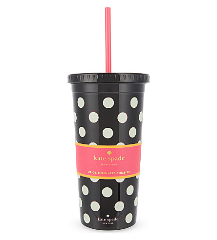 KATE SPADE NEW YORK Polka dot thermal mug 16oz