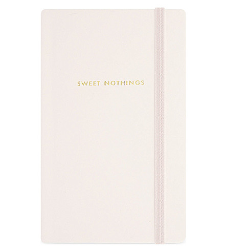 KATE SPADE NEW YORK Take Note Sweet Nothings medium notebook