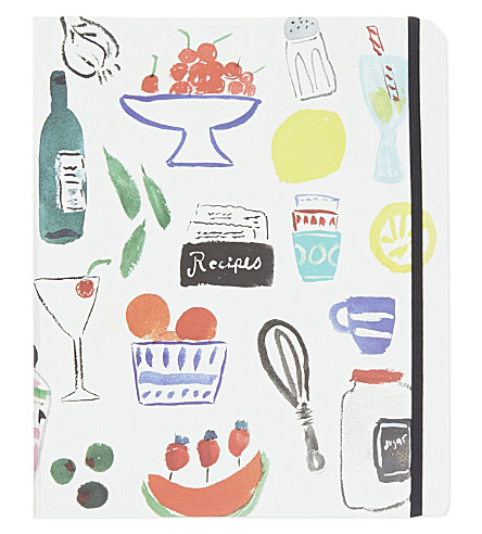 KATE SPADE NEW YORK Bella Pantry recipe Book