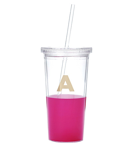 KATE SPADE NEW YORK A typography insulated tumbler