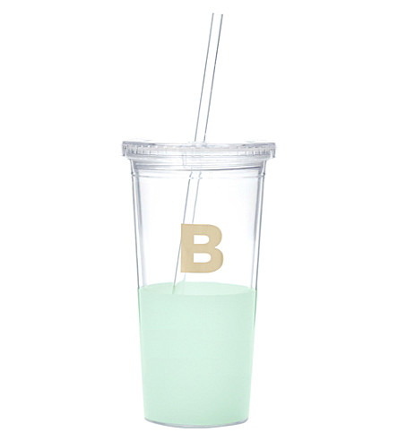 KATE SPADE NEW YORK B typography insulated tumbler