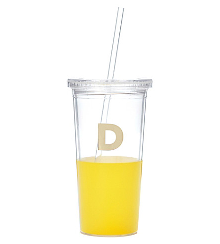 KATE SPADE NEW YORK D typography insulated tumbler