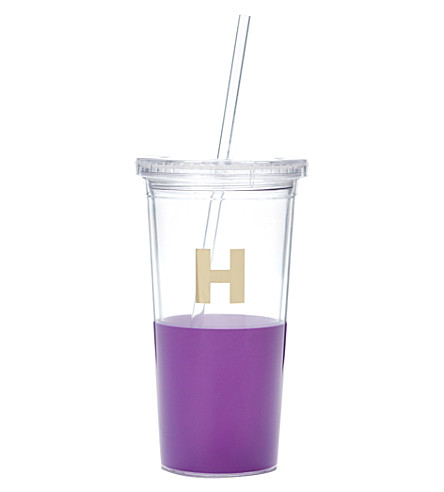 KATE SPADE NEW YORK H typography insulated tumbler