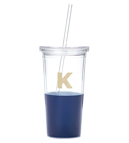 KATE SPADE NEW YORK K typography insulated tumbler