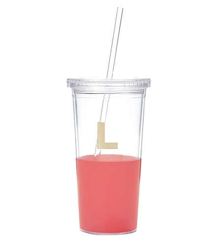 KATE SPADE NEW YORK L typography insulated tumbler