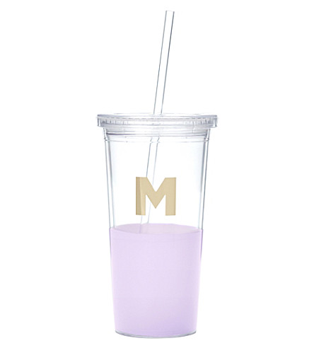 KATE SPADE NEW YORK M typography insulated tumbler
