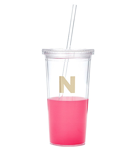 KATE SPADE NEW YORK N typography insulated tumbler
