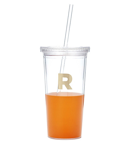 KATE SPADE NEW YORK R typography insulated tumbler