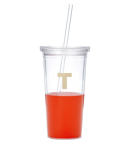 KATE SPADE NEW YORK T typography insulated tumbler