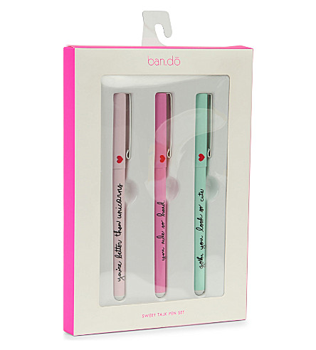 BANDO Sweet Talk pen set
