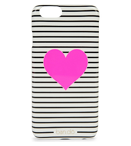 BANDO Striped heart iPhone 6 case