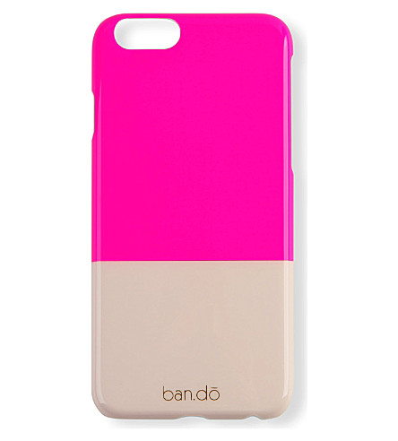 BANDO Neon iPhone 6 case