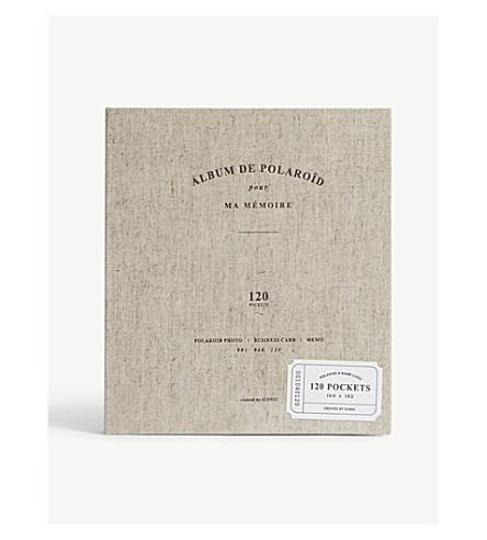 ICONIC Album de Polaroïd pour Ma Mémoire photo album 19cm x 17cm