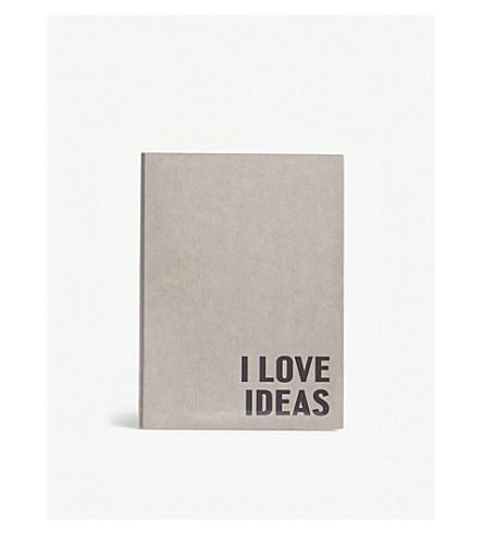 HAPPILY EVER PAPER我爱我的想法填满笔记本 21厘米 x 15厘米