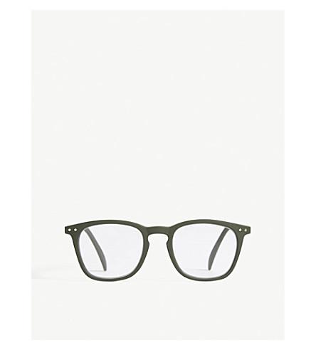 IZIPIZI Letmesee #B rectangle-frame reading glasses +2.5