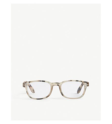 IZIPIZI Letmesee #B rectangle-frame reading glasses +1.0