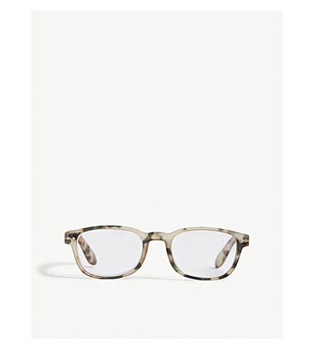 IZIPIZI Letmesee #B rectangle-frame reading glasses +1.5