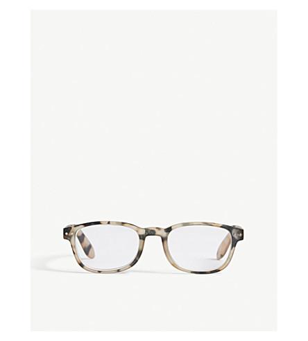 IZIPIZI Letmesee #B rectangle-frame reading glasses +2.0