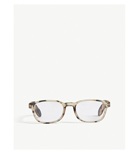 IZIPIZI Letmesee #B rectangle-frame reading glasses +3.0