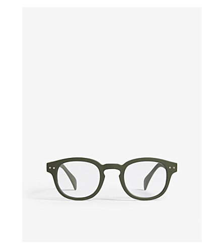 IZIPIZI Letmesee #C square-frame reading glasses +1.0