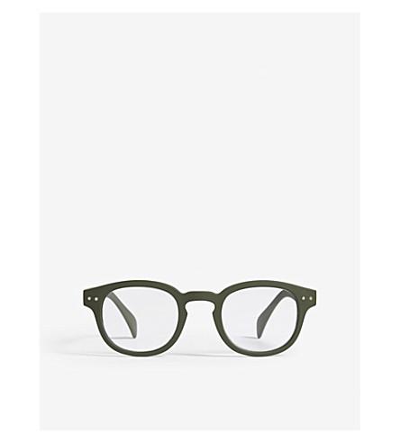 1137f79210 IZIPIZI - Letmesee  C square-frame reading glasses +1.0