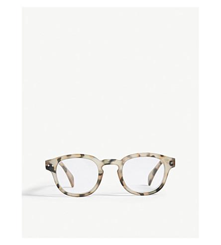 IZIPIZI Letmesee #C Tortoiseshell square-frame reading glasses +1.50