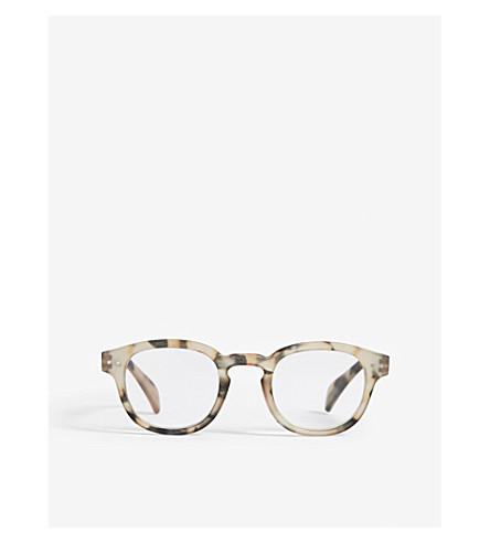 IZIPIZI Letmesee #C square-frame reading glasses +2.0