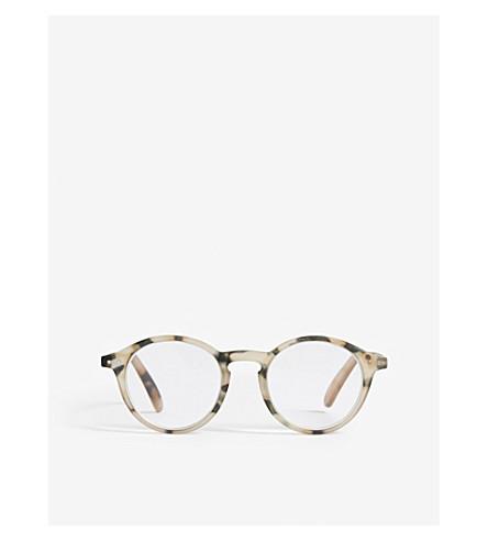 IZIPIZI Tortoiseshell round-frame reading glasses +2.50