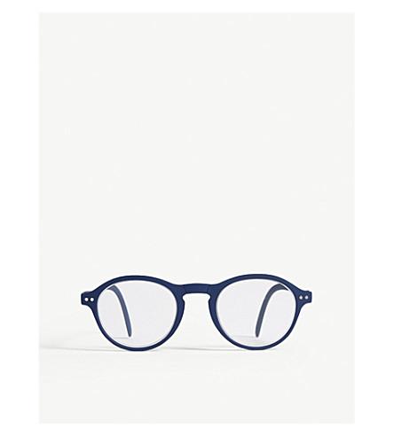 IZIPIZI Letmesee #F round-frame foldable reading glasses +1.5