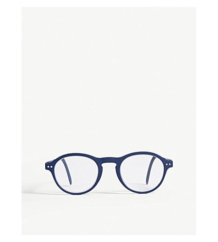 IZIPIZI Letmesee #F round-frame foldable reading glasses +2.0
