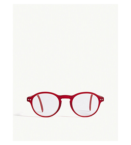 IZIPIZI LetMeSee #F oval-shaped reading glasses +2.00