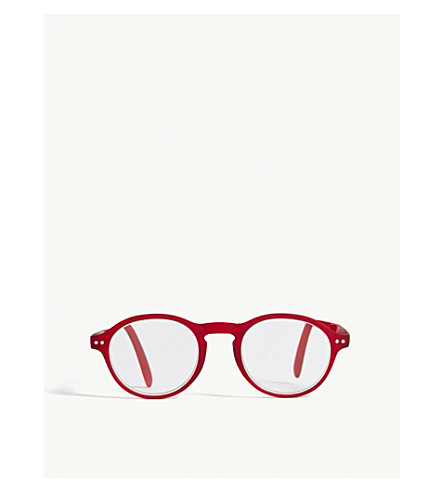 IZIPIZI LetMeSee #F oval-shaped reading glasses +3.00