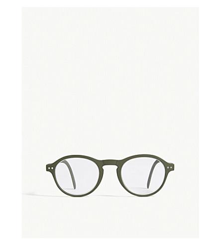 IZIPIZI LetMeSee #F oval-shaped reading glasses +1.50