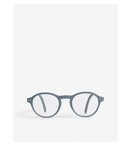 IZIPIZI Letmesee #F round-frame foldable reading glasses +2.5