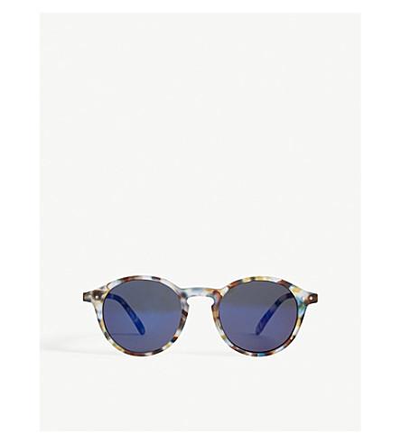 IZIPIZI Sun & Sun Reading #D Tortoiseshell round-frame sunglasses +0.00