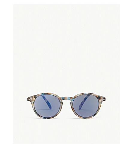 IZIPIZI Sun & Sun Reading #D Tortoiseshell round-frame sunglasses +1.50