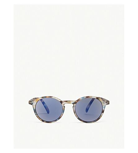 IZIPIZI Sun & Sun Reading #D Tortoiseshell round-frame sunglasses +2.00