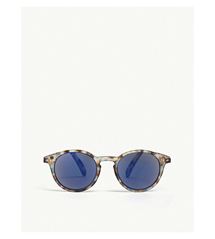 IZIPIZI Tortoise mirror sunglasses