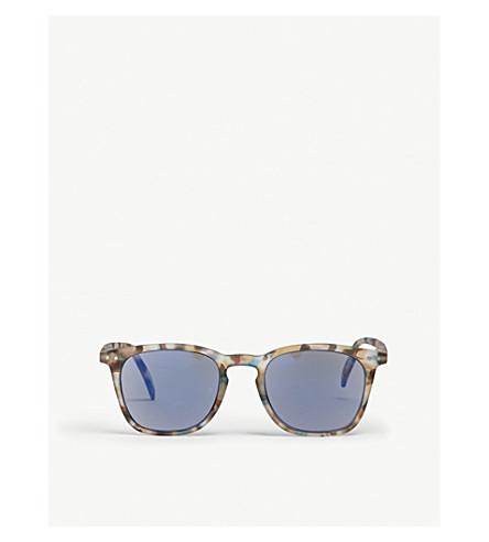 IZIPIZI SUN #E tortoiseshell polarized wayfarer sunglasses +1.50