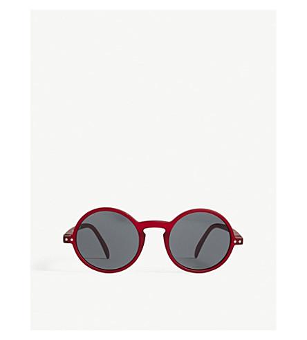 IZIPIZI SUN #G round-frame tinted sunglasses