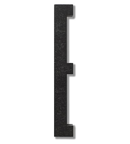 DESIGN LETTERS Wooden letter E