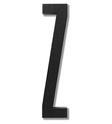 DESIGN LETTERS Z typography wooden letter