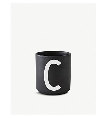 DESIGN LETTERS C Personal porcelain cup 7.5cm